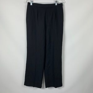 Le Suit 8P Black Lined Pants Career Business